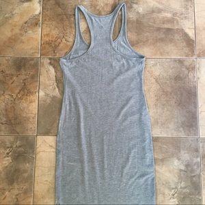 lululemon athletica Dresses - Lululemon Grey Maxi Refresh Dress Side Slit M